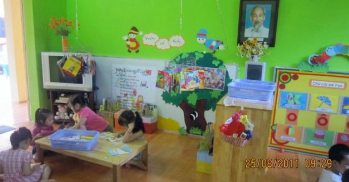 A North Korean-ran kindergarten in Hanoi, Vietnam. Photo: unknown.