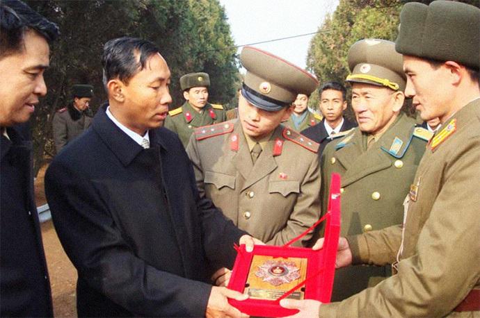 Shwe Mann DPRK