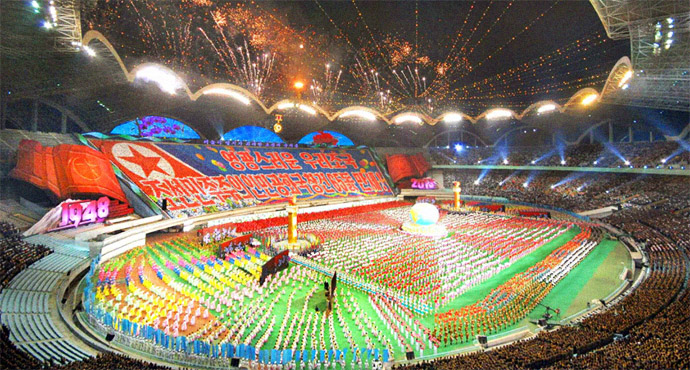 "New North Korean ""mass games"" event to begin on September 9: tour company"
