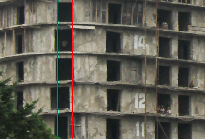 Windows Show Very Poor Alignment | Risk: Structural Integrity From  Continuity Is Compromised | Picture: NK News. U201c