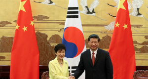 When two triangles fall apart: The new Korean geopolitics