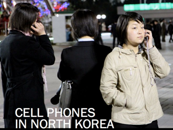 The first NK News podcast was about increasing cell phone use in North Korea