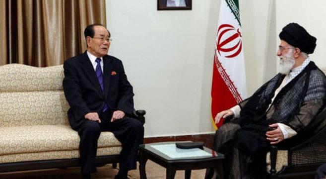North Korea's Kim Yong Name visits Iran | Picture: KCNA
