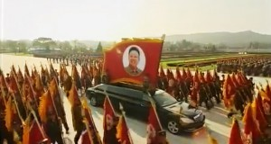 On parade: luxury Mercedes limos spotted in North Korea