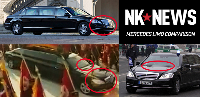 On Parade Luxury Mercedes Limos Spotted In North Korea
