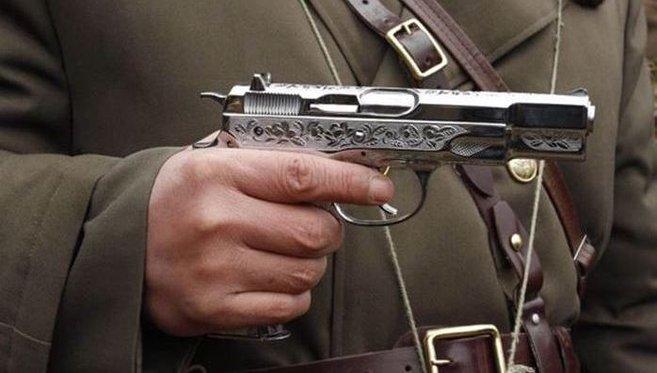KPA Chrome pistol