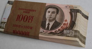 Black market cash: The real value of N. Korean won