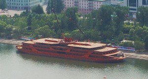 North Korea building large size 'luxury' river cruiser
