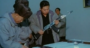 Why some North Korean soldiers have shiny, chrome-plated arms