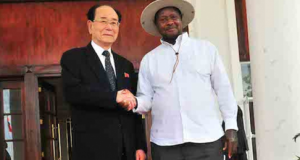 Kim Yong Nam in Uganda, new security deal may result