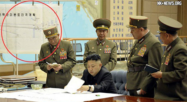 NK News coverage of missile strike threats led to extensive re-reporting | Picture: KCNA