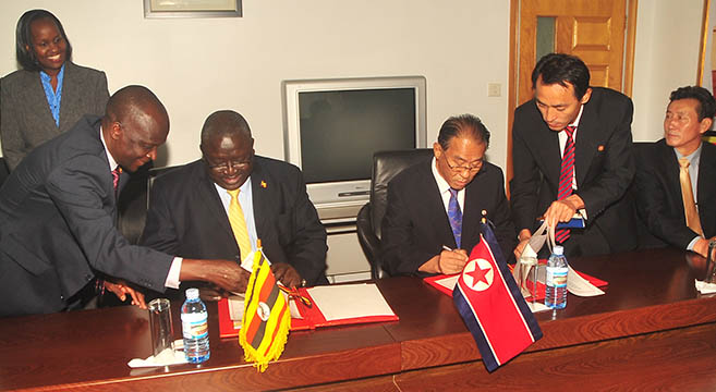 Uganda claims it is curbing ties with North Korea