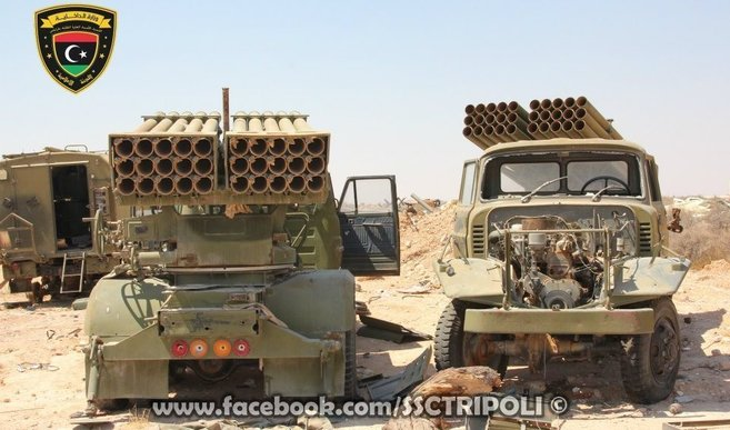 Two BM-11 MRLs in Libya | Photo: Libyan Ministry of the Interior