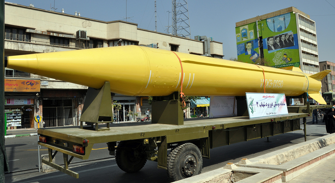 Iranian Shahab-3 missile | Photo: Aria Mehr, Flickr Creative Commons