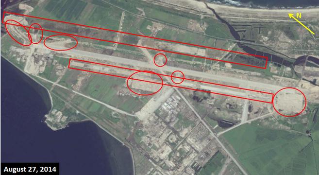 Wonsan Airport Undergoing Major Renovation Expansion NK News - Google map us base korea