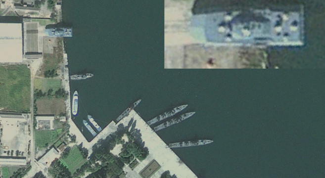 Munchon Naval Base | Image: Google Earth