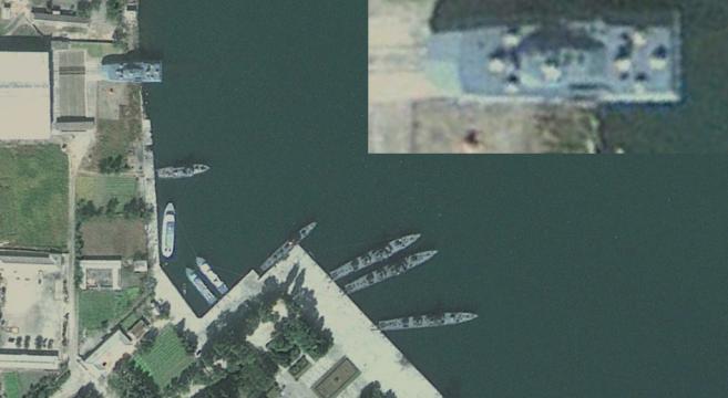 Munchon Naval Base | Image: Google Earth