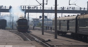North Korea reports progress in modernizing domestic railway