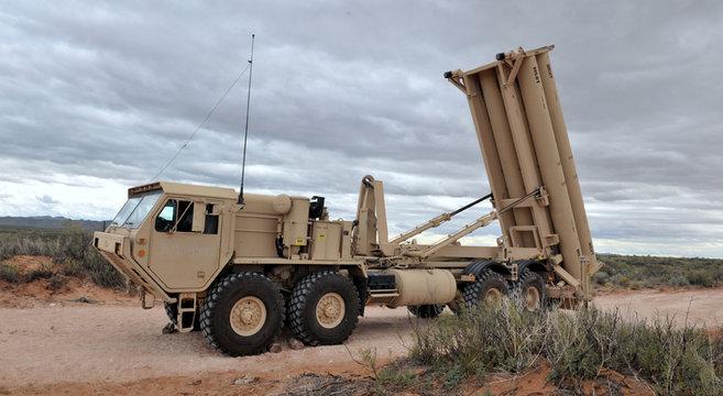 THAAD launcher MDA