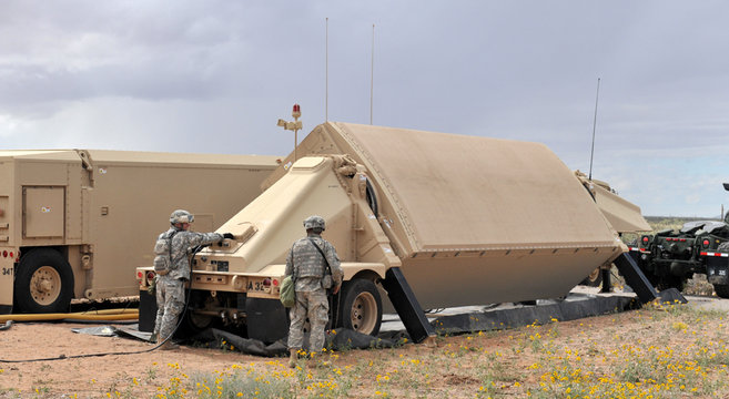 AN/TPY-2 X-band radar | Photo: U.S. Missile Defense Agency