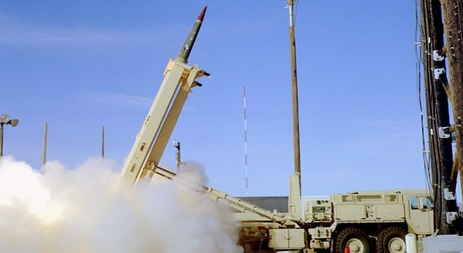THAAD launch | Photo: U.S. Missile Defense Agency