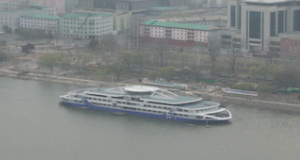 North Korean luxury river cruiser nearing completion
