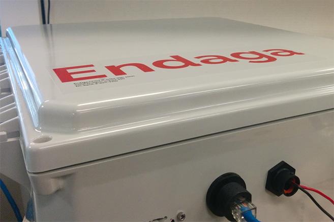 Endaga box close-up | Picture: Endaga