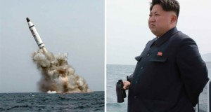 North Korea test-fires ballistic missile from submarine: KCNA