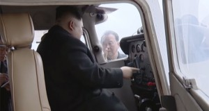 Kim Jong Un flies North Korean-made plane: KCTV