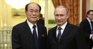 Kim Yong Nam, Putin discuss bilateral relations in Moscow: KCNA