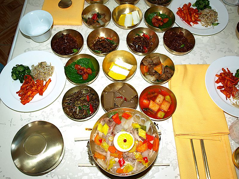 What s for dinner the distinctive north korean menu nk for Cuisine korean
