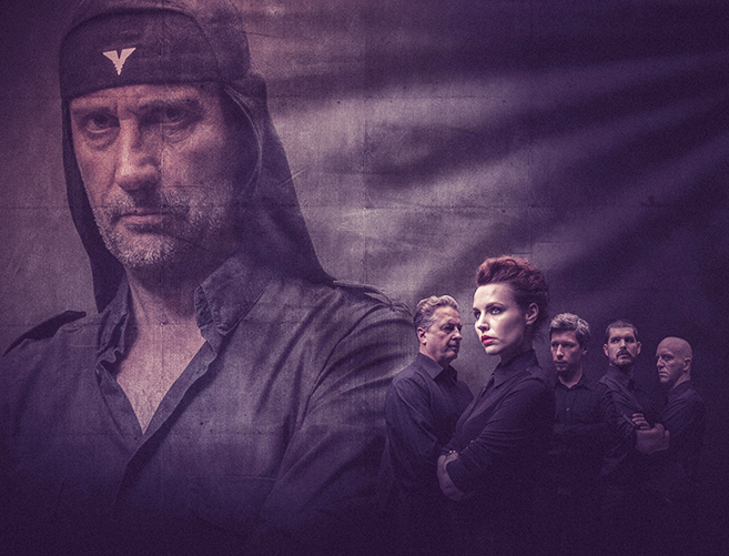 Promotional poster of the band | Picture: Laibach