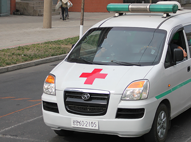Another kind of ambulance in Pyongyang | Ray Cunningham
