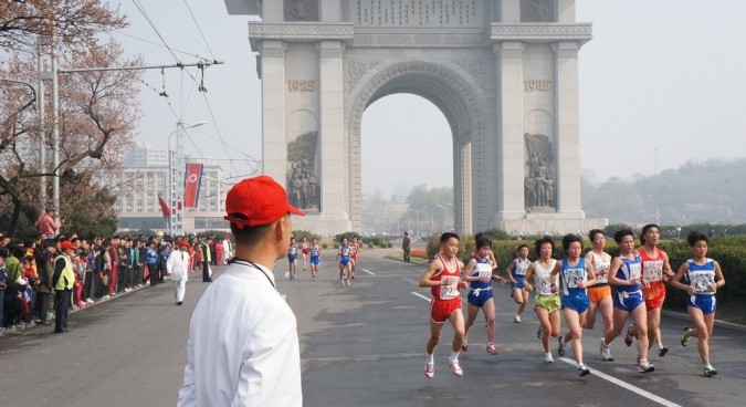 Foreigners banned from Pyongyang Marathon due to Ebola measures