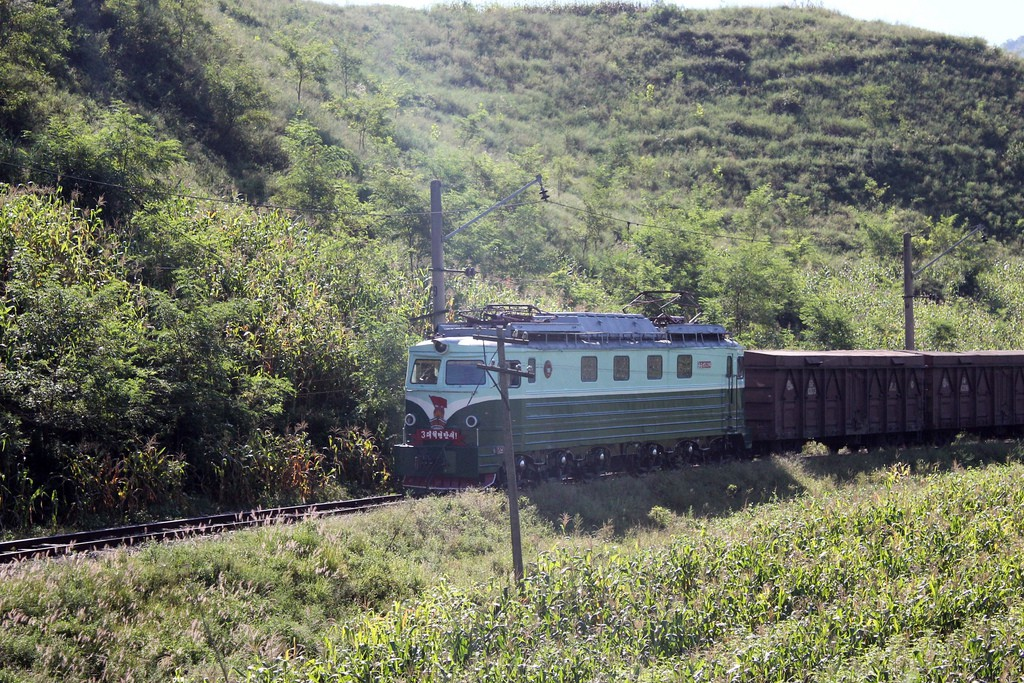North Korean Leader Calls For Rev ing Rail on electric generator map