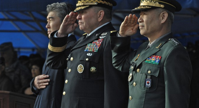 American soldiers need to leave South Korea