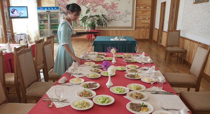 What's for dinner? The distinctive North Korean menu