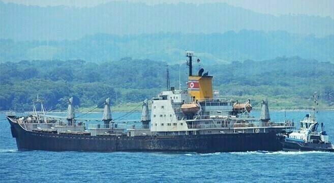 Panama court sentences N.Korean sailors