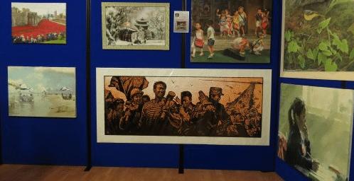 North Korean art comes to London