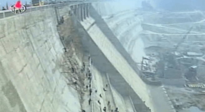 North Korea building 10 new hydroelectric dams