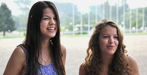 Daughter of French Socialist politician at summer camp in North Korea