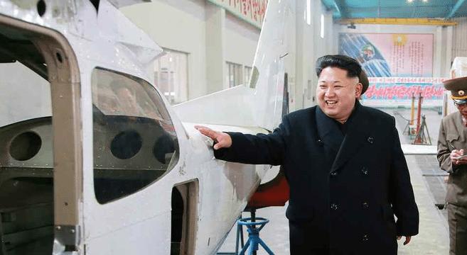 N. Korea manufacturing own light aircraft