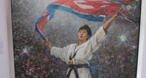 North Korean art in a Dutch town