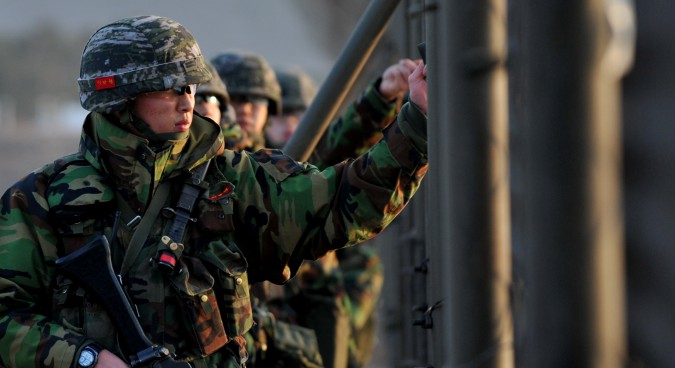 The contradictory effects of South Korean military education