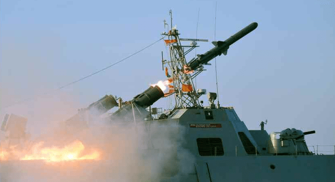 State media highlights test launch of anti-ship missile