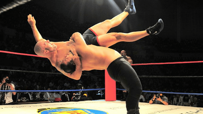 Wrestling event draws attention, but does it help?