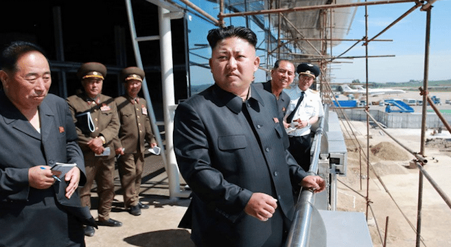 CORRECTION: Pyongyang International Airport nearing completion