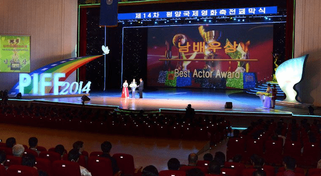 Inside the Pyongyang International Film Festival
