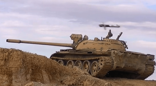 N. Korean upgraded tanks still in use in Syrian Civil War