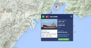 Sanctioned N. Korean vessel becomes regular visitor to Russia